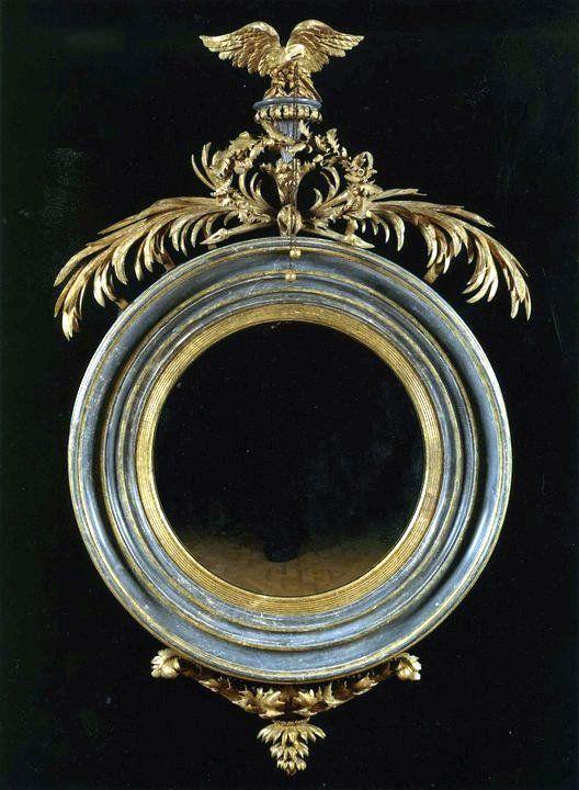 Painted Regency Mirror  at Carlton Hobbs LLC  New York & London
