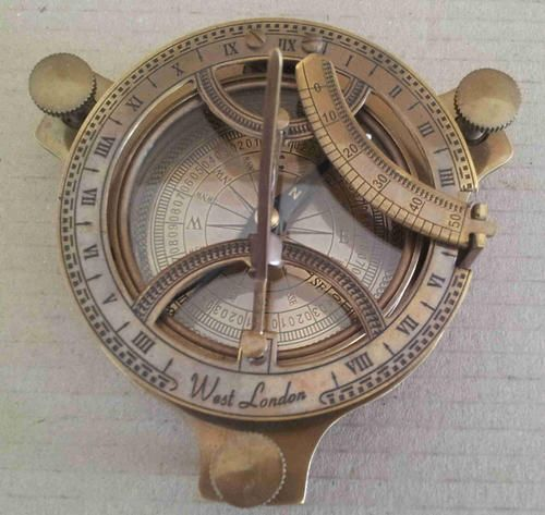Other Nautical Antiques - Nautical sundial compass nb3 for sale in Johannesburg (ID:212172090)