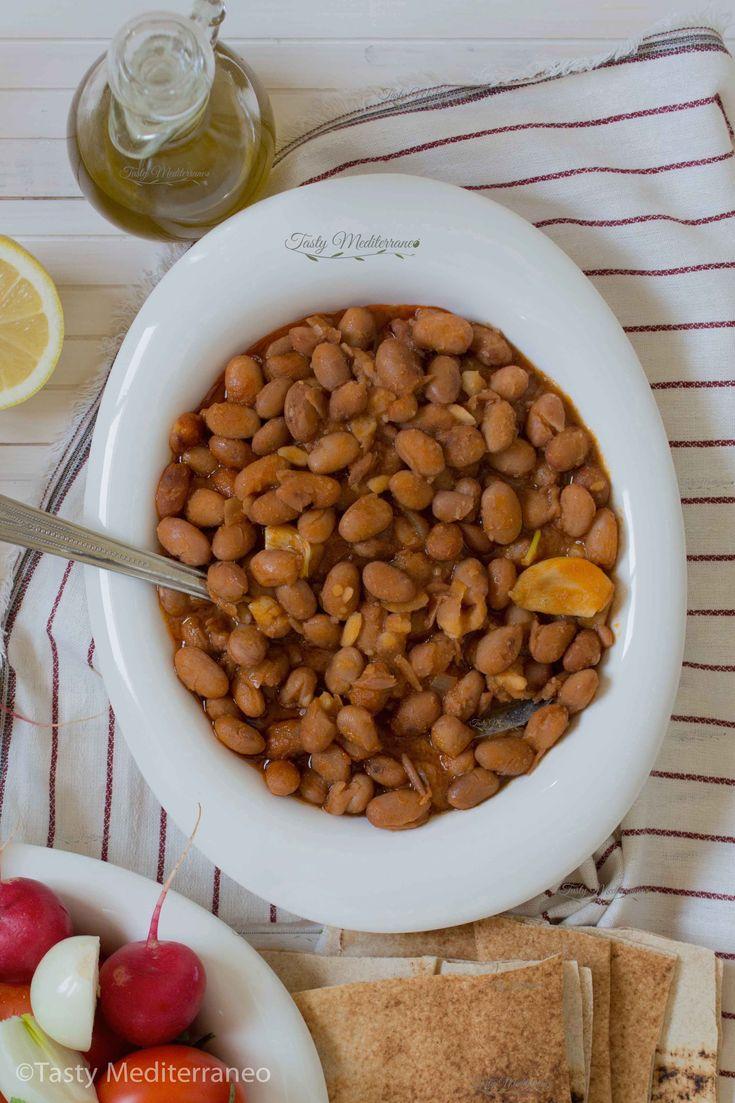 Lebanese fasolia bi zeit – Tasty Mediterraneo