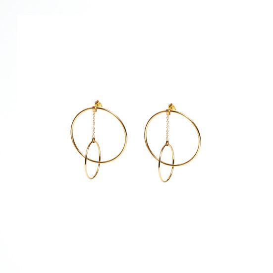 Pena Jewels — Hoop Earrings