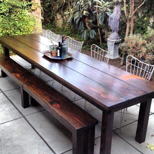 Rustic Outdoor Tables Rustic Patio Furniture In 2020 Outdoor Furniture Makeover Wooden Outdoor Furniture Rustic Patio