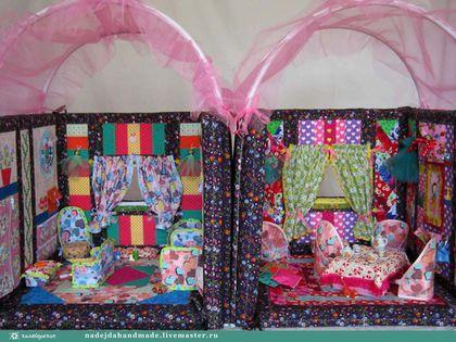 Кукольный дом ручной работы. Мебель для кукольного домика. Развивающие игрушки для детей. Ярмарка Мастеров. Мебель для куклы, кукольный стул