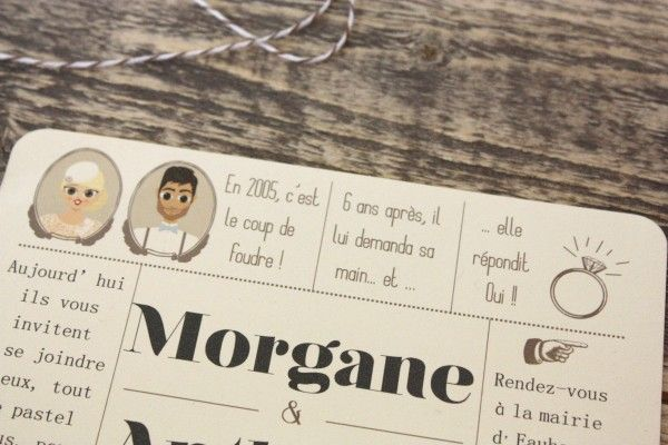 Save the date : Morgane & Anthony