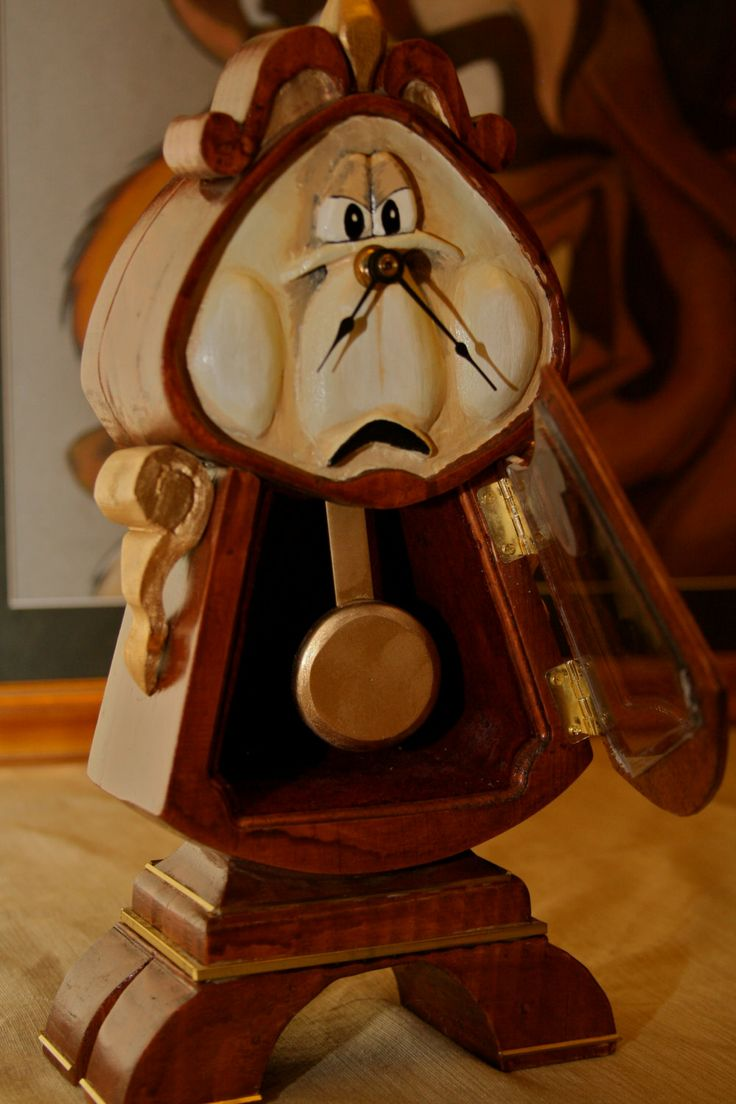 Beauty and the beast belles bedroom - Beauty And The Beast Cogsworth Clock
