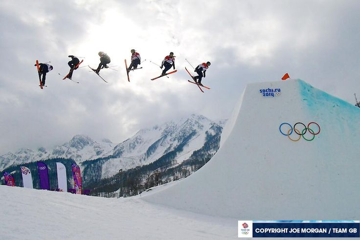 Katie Summerhayes on her last run at the 2914 Sochi Winter Olympic Games