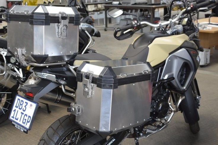 PANNIERS AND TOPBOXES ALUMINIUM available from DUSTRIDERS MOTORCYCLE ACCESSORIES