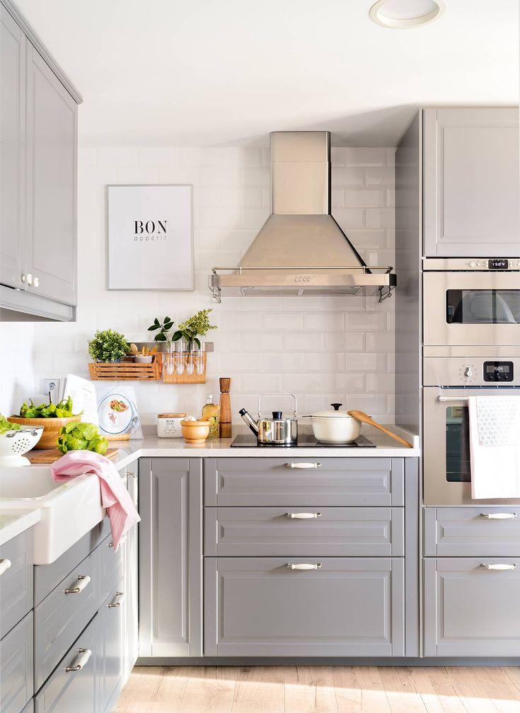 Una cocina pequeña perfecta de solo 8m2