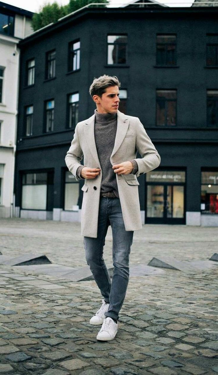 mode homme automne hiver 2017 2018 idées tendances couleurs neutres pour l'hiver