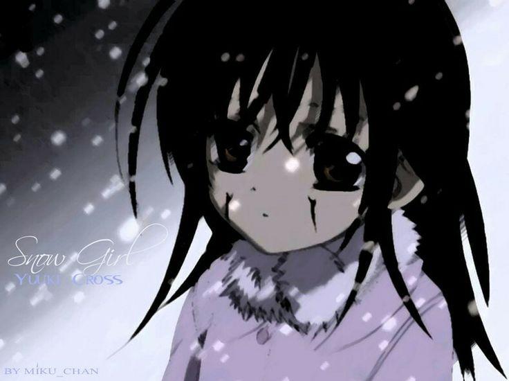 Vampire knight - Yuki as a little girl. When she she was ...