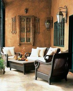Rancho Santa Fe - mediterranean - patio - san diego - by Cassidy Interiors