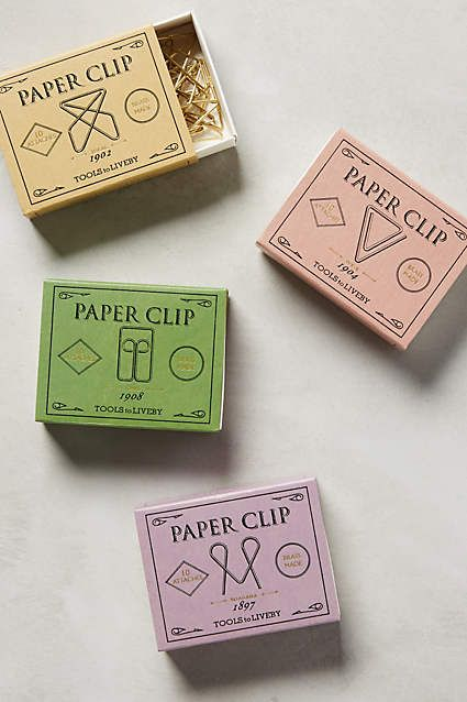 Folio Paper Clips - #AnthroFave