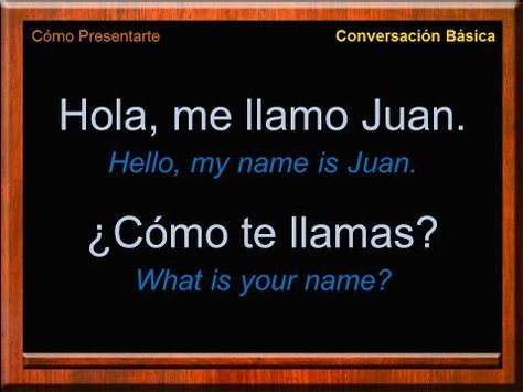 Basic Conversation in Spanish   Introduce Yourself in Spanish   Spanish Conversation   Learn Spanish - YouTube