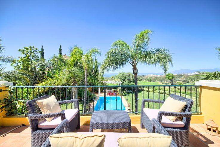 el Rosario Villa with stunning sea views