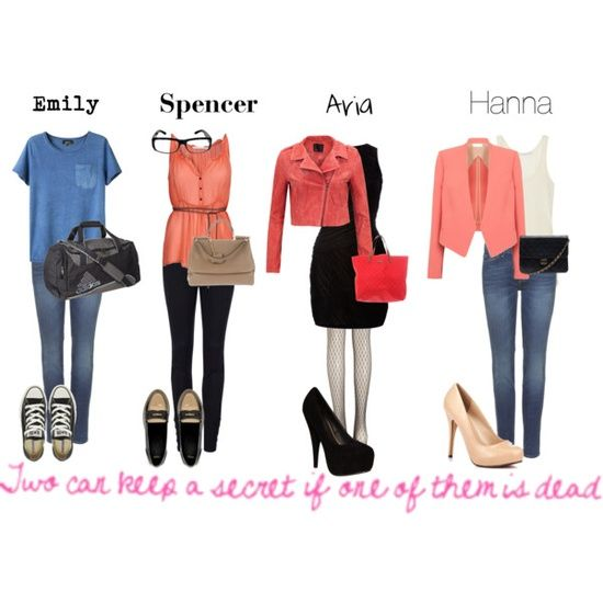 """Pretty little liars fashion"" by loved4loving on 