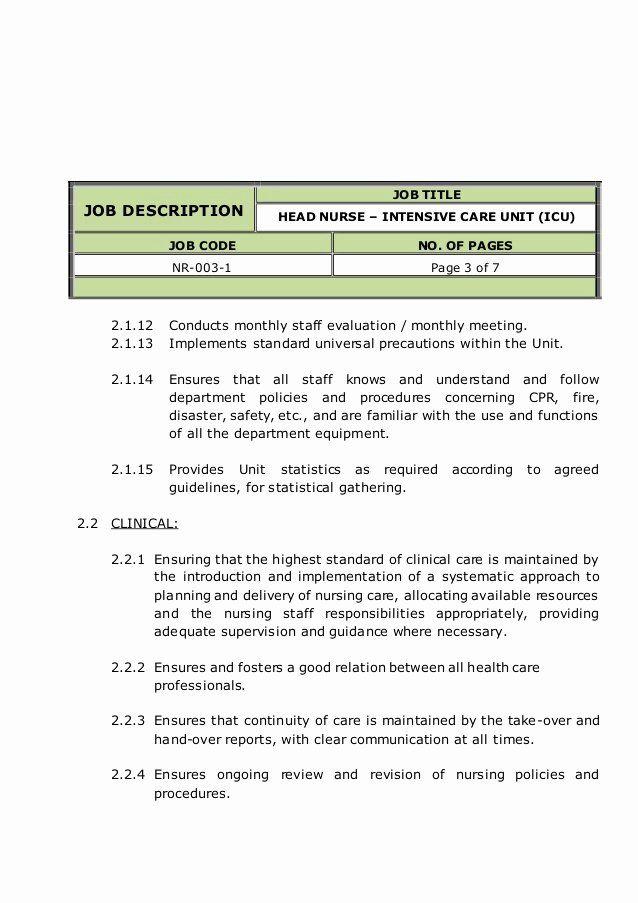 Health Unit Coordinator Job Description Resume Unique ...
