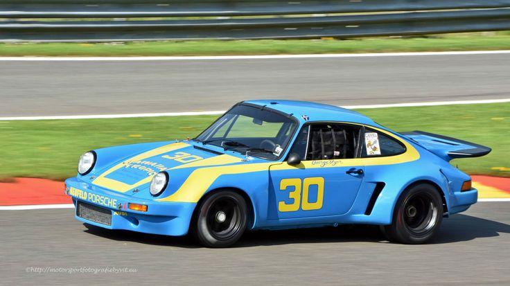 Porsche 911 Carrera RSR Race Car