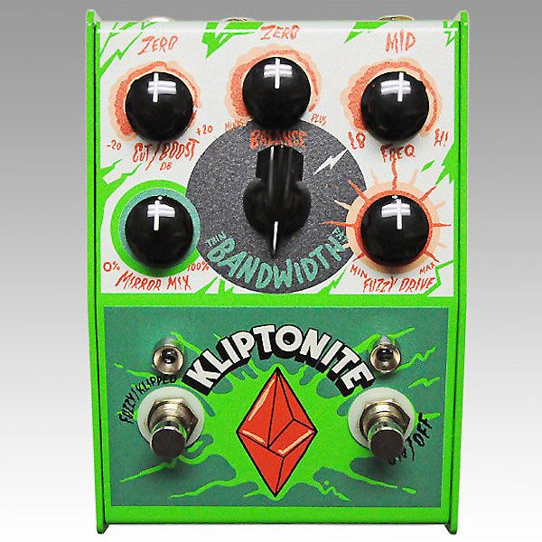 Much like kryptonite is Superman's weakness, the Stone Deaf FX Kliptonite will be your weakness if you've got an affinity for fuzz. Compare prices and shop new and used Stone Deaf FX Kliptonite Pedals on Reverb.
