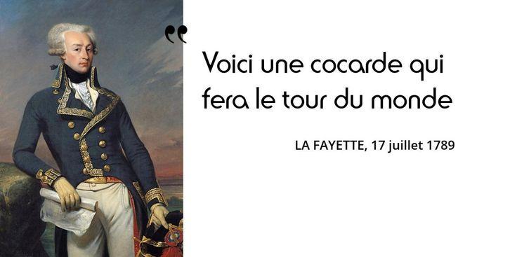 6 septembre 1757 : naissance de La Fayette. Retour sur la fameuse cocarde tricolore