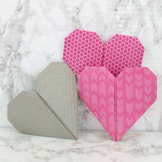 Things we love to make: origami-heart-pocket   {Home-ology} modern vintage