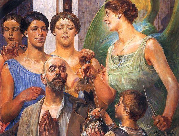 Tobiasz i Parki − tytuł obrazu olejnego na płótnie autorstwa Jacka Malczewskiego, namalowany w roku 1912. Dzieło znajduje się w zbiorach Galerii Rogalińskiej.
