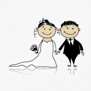 Dibujos de novios de bodas