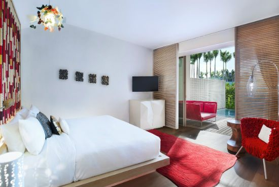 Sentosa Luxury Hotel | Spectacular AWAY Room at Singapore Sentosa Cove