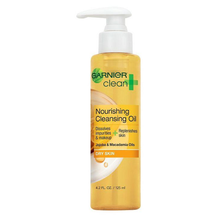 Garnier 174 clean nourishing cleansing oil for dry skin 4 2 oz for