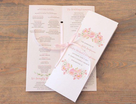 Best 25+ Wedding ceremony booklet templates ideas on Pinterest - wedding brochure template