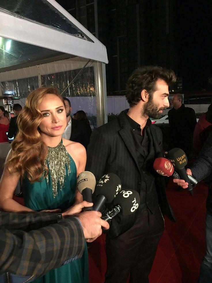 Burçin Terzioğlu-İlker Kaleli 43. Altın Kelebek Ödül Töreni