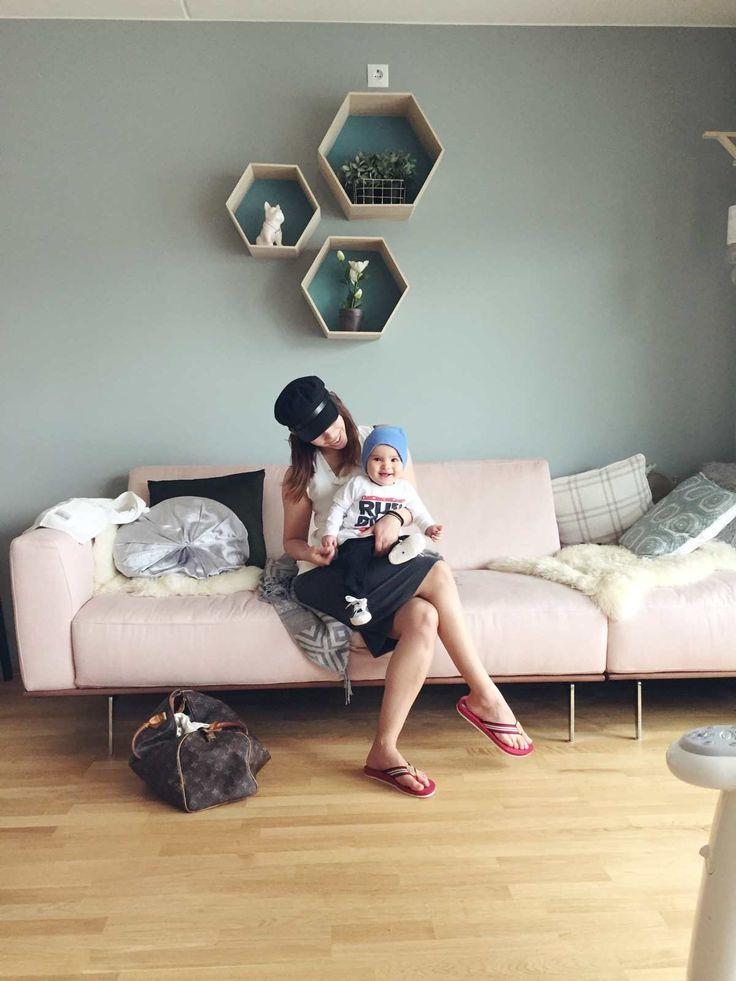 Aya Romano baby 7 måneder, minty breeze