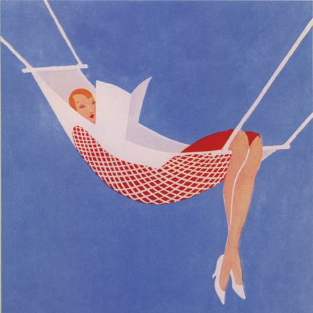 The Sketch Midsummer Number, 25 June 1930 #Book #Reading #Hammock #Summer