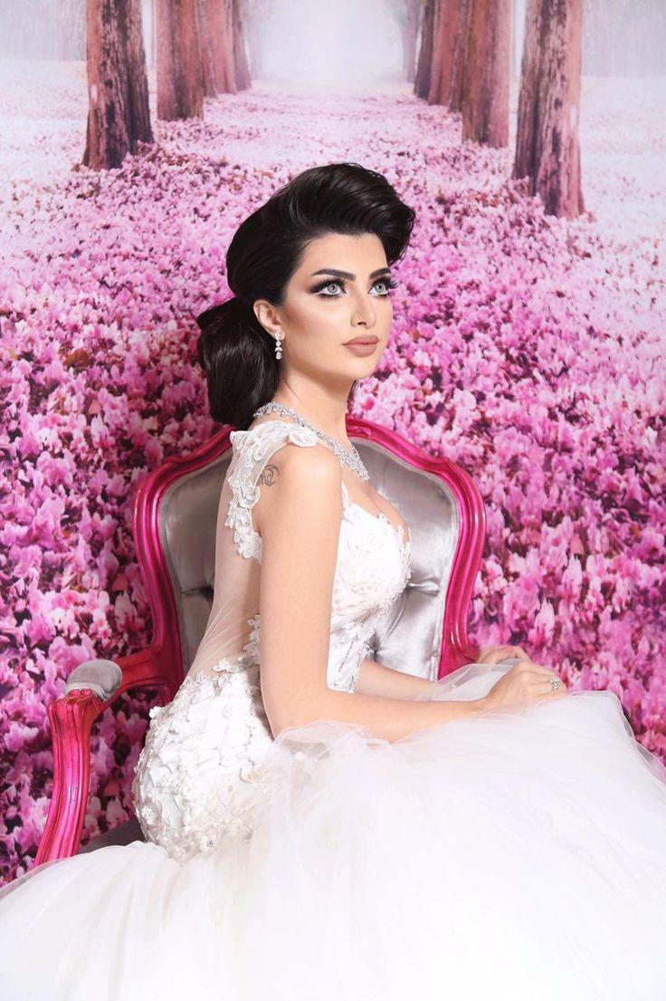 Mejores 199 imágenes de Arab wedding dresses designers en Pinterest ...