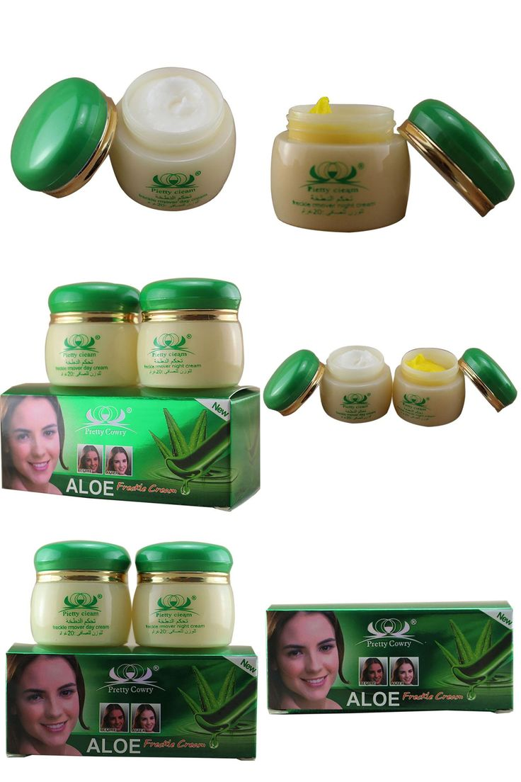 [Visit to Buy] 20g *2 /1set Skin Care Aloe Spot Whitening Face Cream Removes Pigment Moisturizing Freckle Face Care #Advertisement