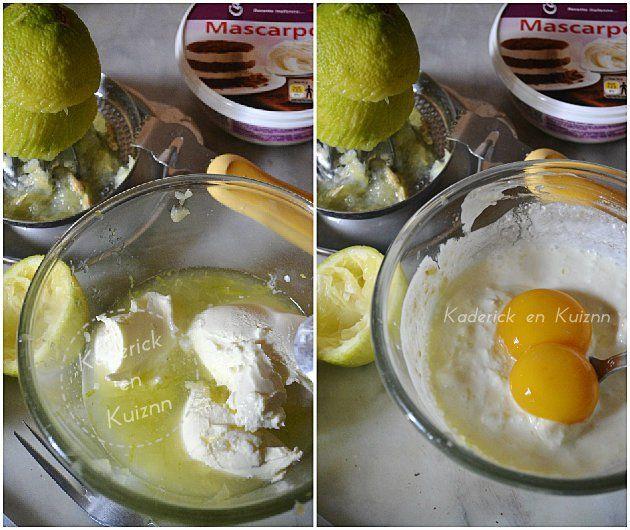 Sauce au mascarpone et citron vert pour les pâtes tagliatelles de Jamie Oliver - Kaderick en Kuizinn©