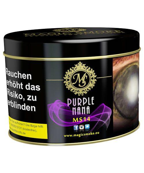 Magic Smoke 200g Purple Nana im Relaxshop unter https://www.relaxshop-kk.de/magic-smoke-tabak-200g.html
