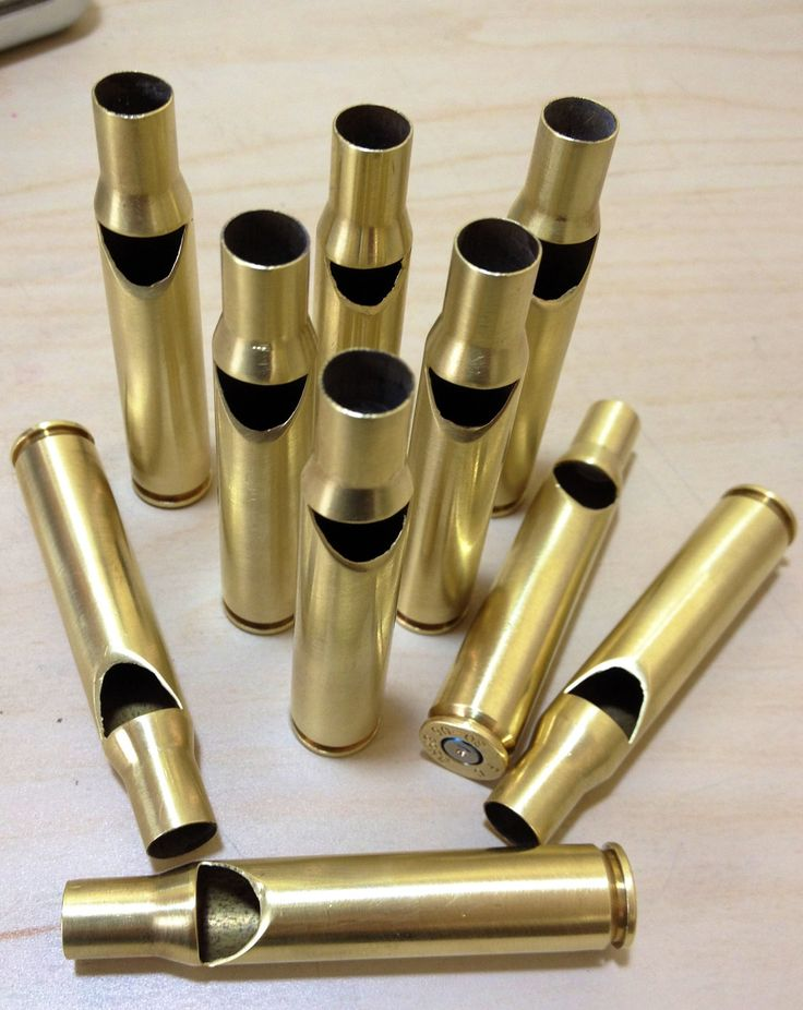 Brass Bullet Whistle 3006. Beat your swords into plowshares and your bullets into whistles. by cozad, $15.00