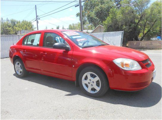 Sedan, 2007 Chevrolet Cobalt LS with 4 Door in Roseville, CA (95678)