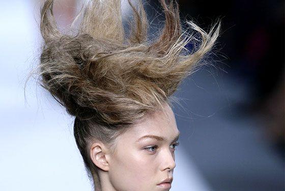 kickin' crazy antler hair.