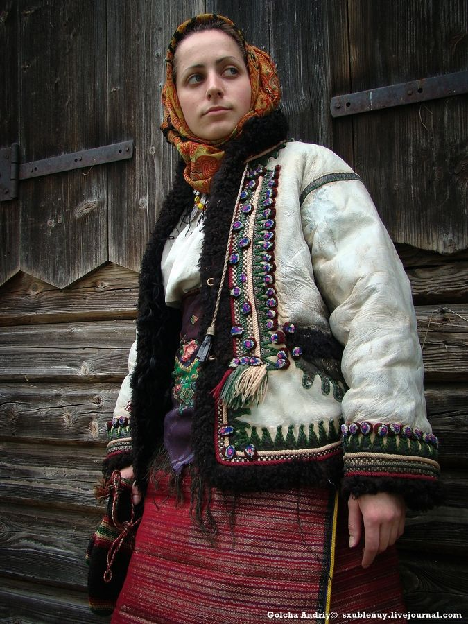 Hutsul woman by Andriy Golcha