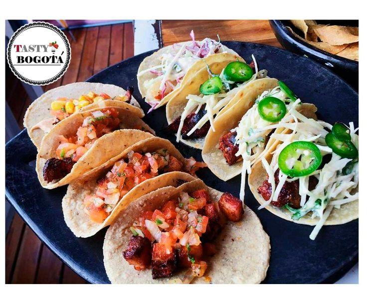 Variedad de tacos  Gringo cantina