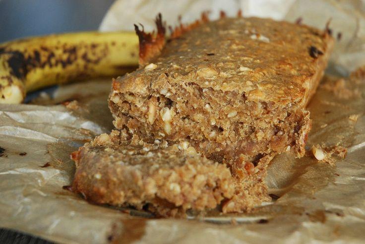 Banana Bread aux Flocons d'Avoine et Amandes - Sans Oeufs, Sans Beurre, Sans Lait
