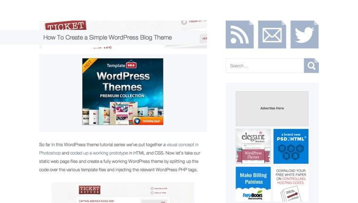 4 Tutorials To Help You Build WordPress Themes   SMFAPLUS - The Online IT Plus Magazine