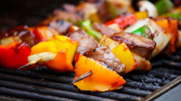 Chunky BBQ Beef Kebabs