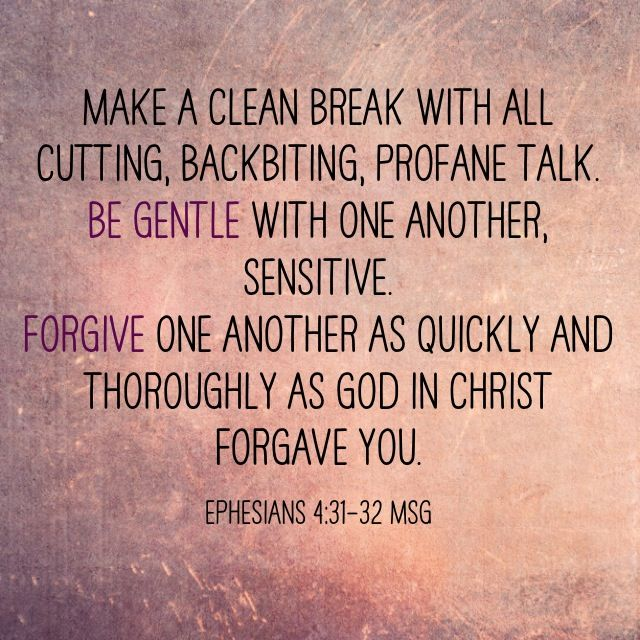 Lets be gentle and sensitive towards each other today. And lets forgive each other- no grudges! :)