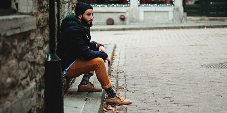 Dudes- here's how to stay warm this winter without sacrificing your style.