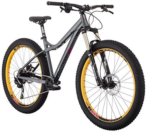 Diamondback Bicycles Womens Rely Trail 275 Plus Hardtail Mountain Bike 19Large Silver -- You can find more details by visiting the image link.