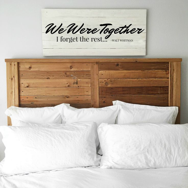 Exceptional  Walt Whitman | Master Bedroom Wall
