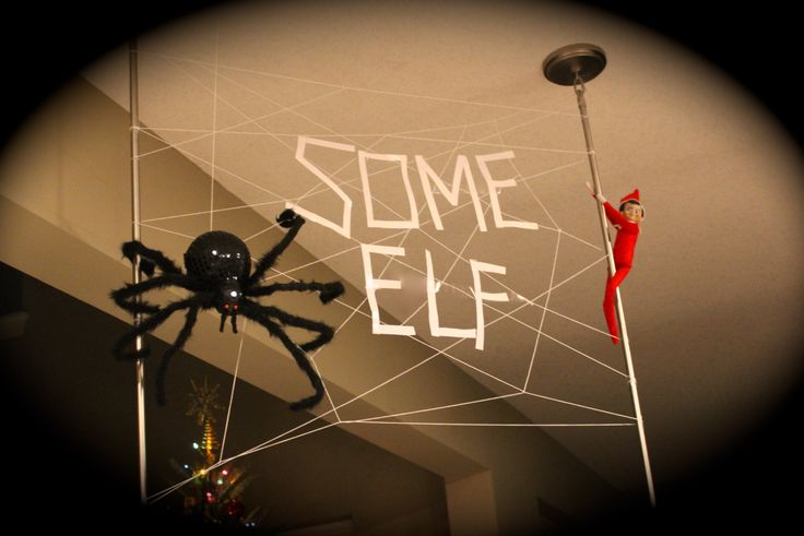 Elf on a Shelf - Wow, now that is one terrific sight! (2013)