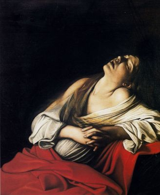 Микеланджело Меризи де Караваджо. Мария Магдалина в экстазе