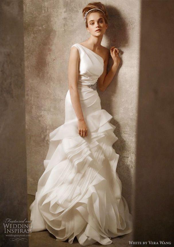 Cute Vera Wang White Wedding Dresses
